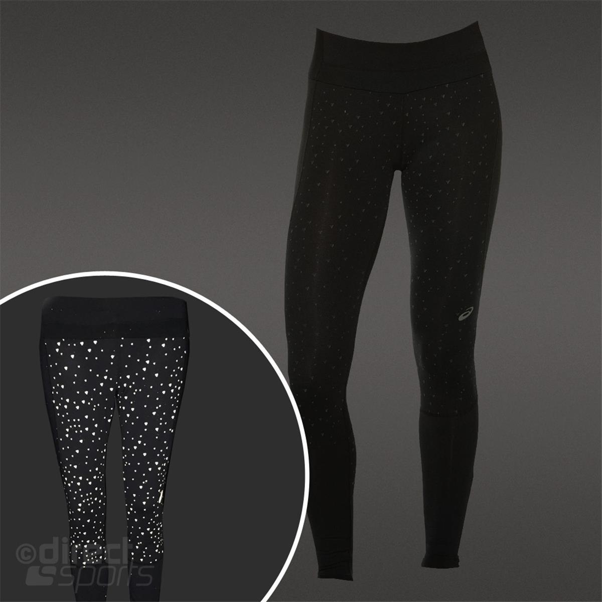 asics lite show womens running tights direct running. Black Bedroom Furniture Sets. Home Design Ideas