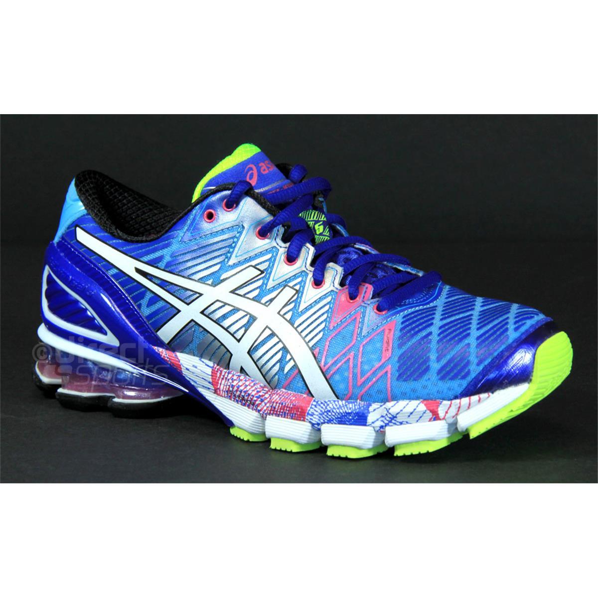 Australia Womens Asics Gel-kinsei 5 - Sport Running Womens Running Shoes All Asics Gel Kinsei 5 Womens Running Shoes (soft Blue White Hot Pink) Productid 3d18240