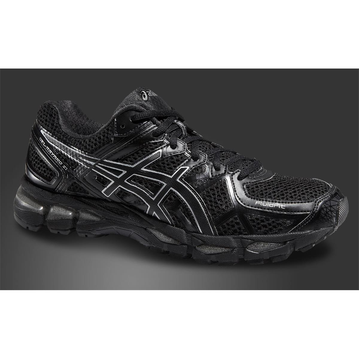 new products 8173a 293f0 mens asics gel kayano 21 black