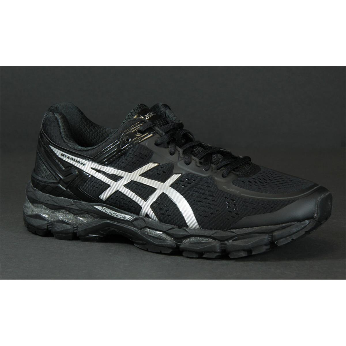 asics kayano mens black