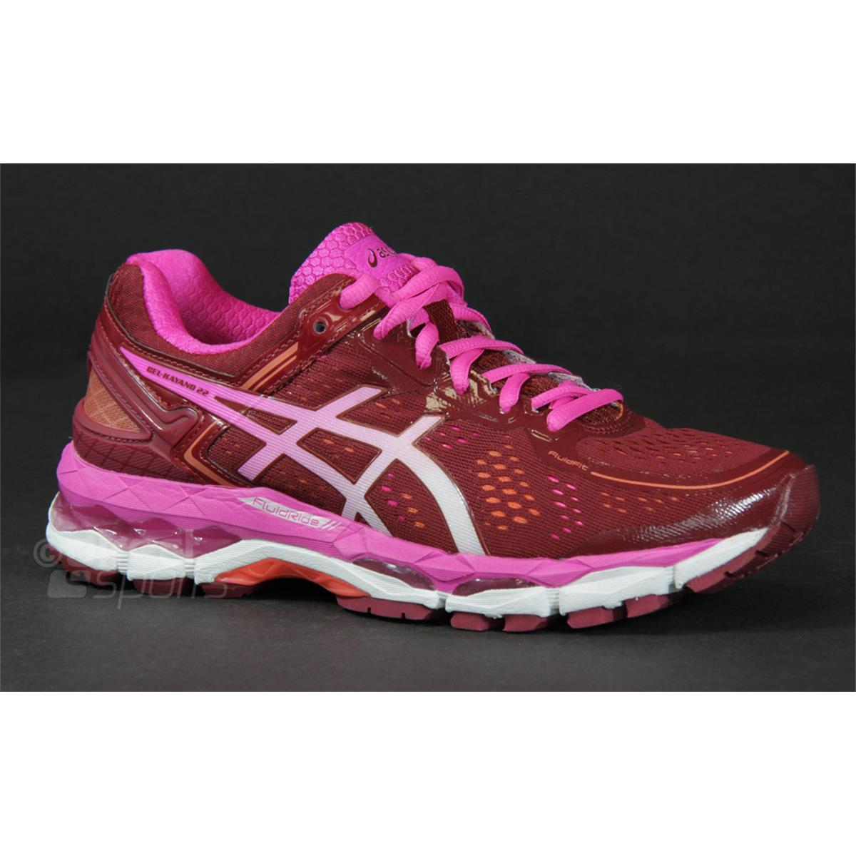 Asics Gel Kayano 22 Women s Running Shoes ... 8ffff7ef200c