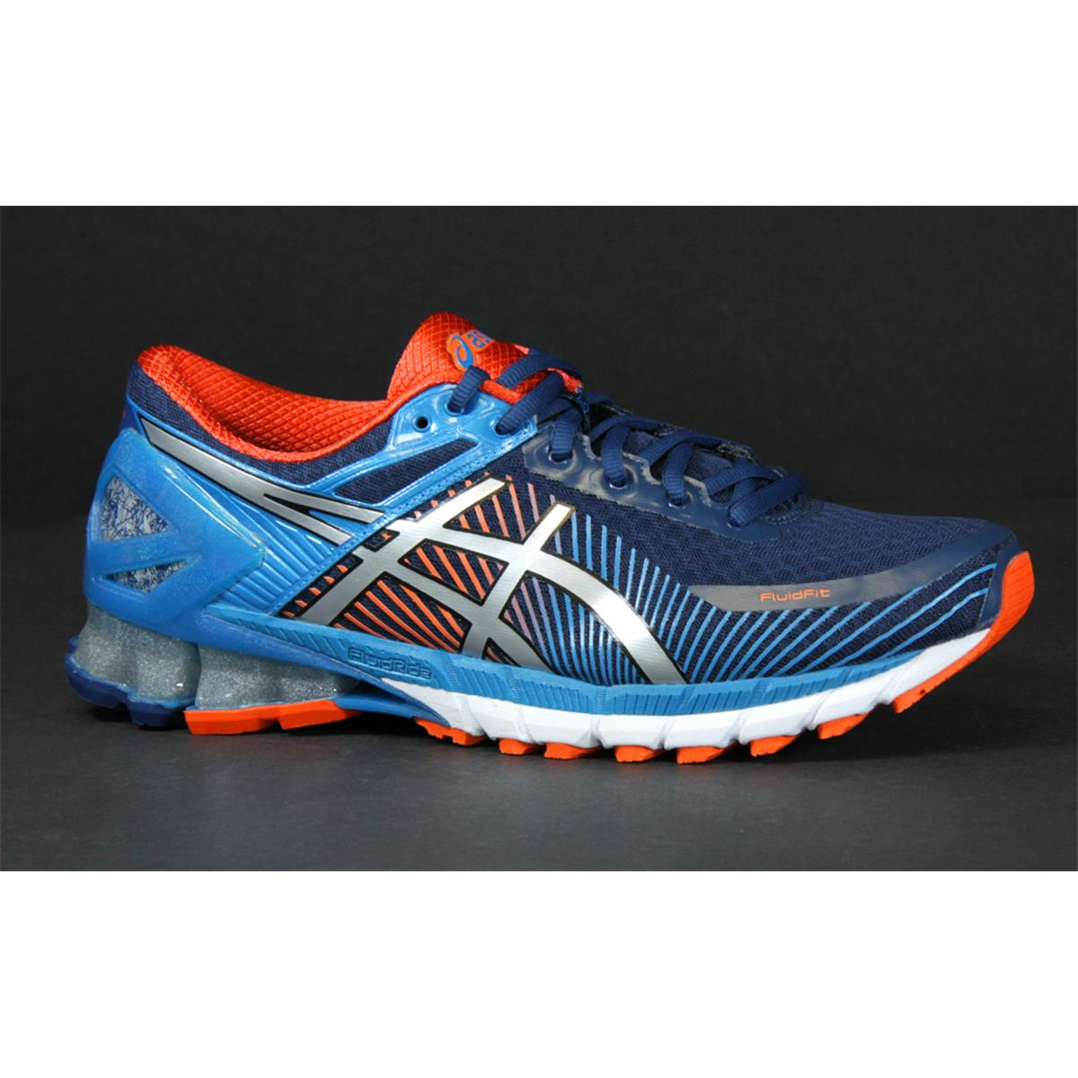 Asics Gel Kinsei 6 Mens Running Shoes (Blue-Silver)  4ec2e6b60e63