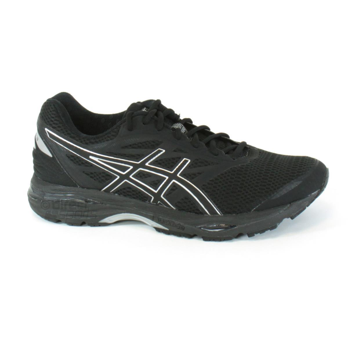 Asics Gel Cumulus 18 Mens Running Shoes (Black) | Direct