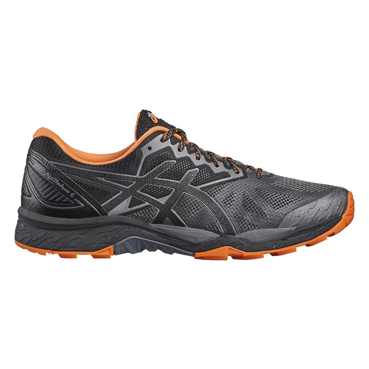 Asics Gel Fuji Trabuco 6 Mens Trail Running Shoes (Carbon