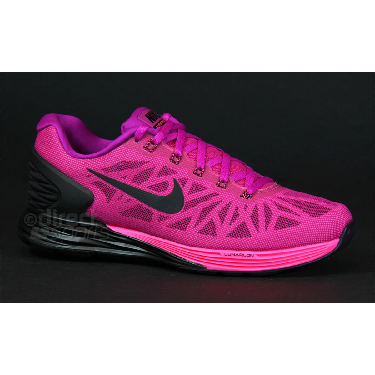 Nike Femmes Lunarglide 6 Chaussures - Fa14 Dimensions