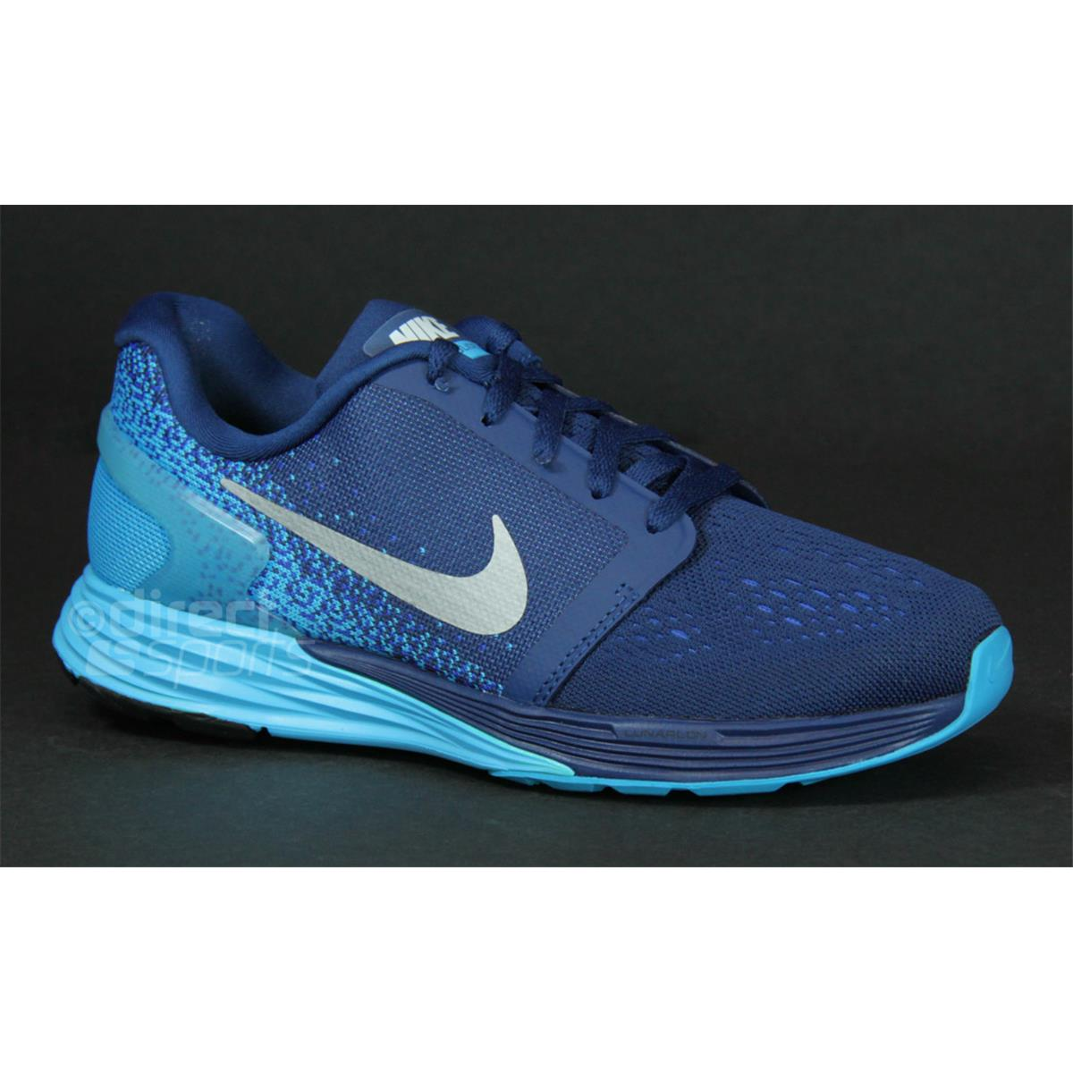 ... cheap shoes nike back to list nike lunarglide 7 gs junior running shoes  blue . fe279 fff764aab