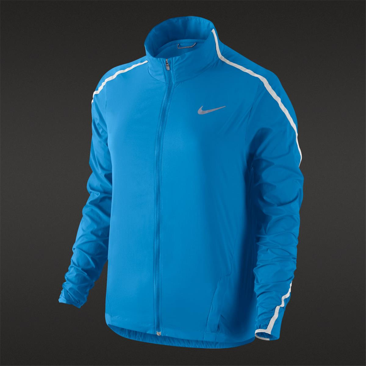 Nike Impossibly Light Womens Running Jacket Blue