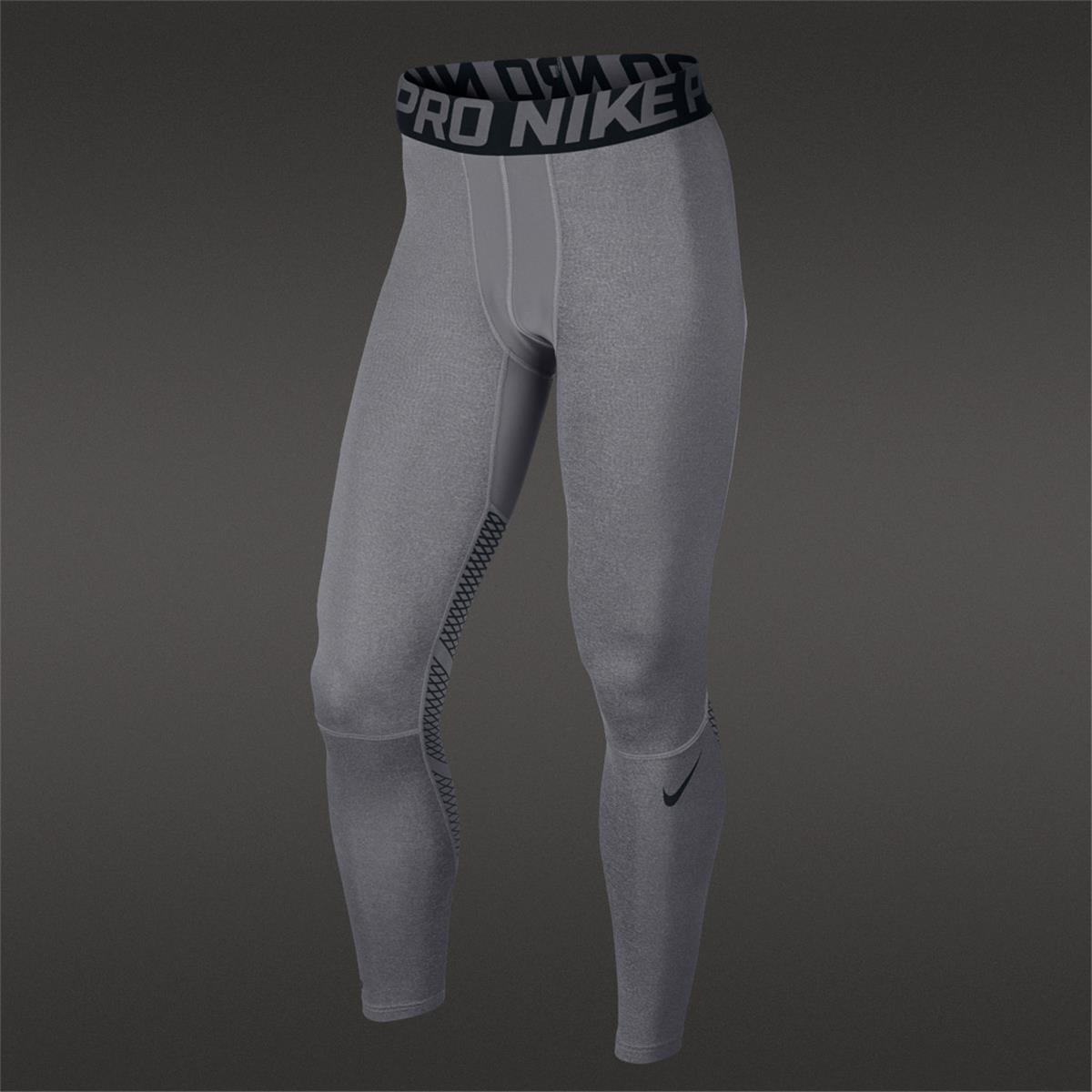 Nike Pro Hypercool Mens Running Tights Grey Direct Running