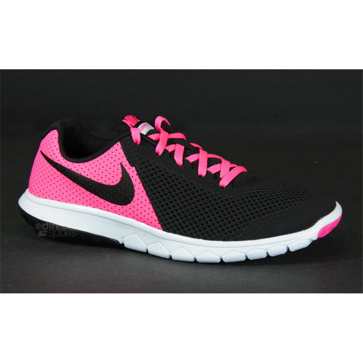 size 40 fbdd8 c9afb Nike Flex Experience 5 GS Junior Running Shoes (Pink-Black) | Direct ...