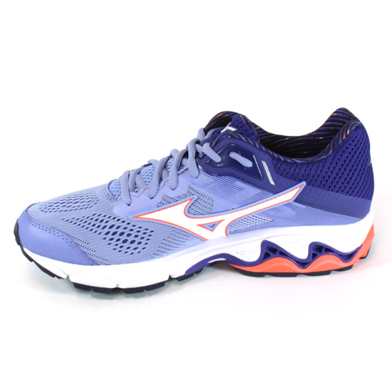 c83048f20df4 Mizuno Wave Inspire 15 Womens Running Shoes (Grapemist- White- Fiery Coral)
