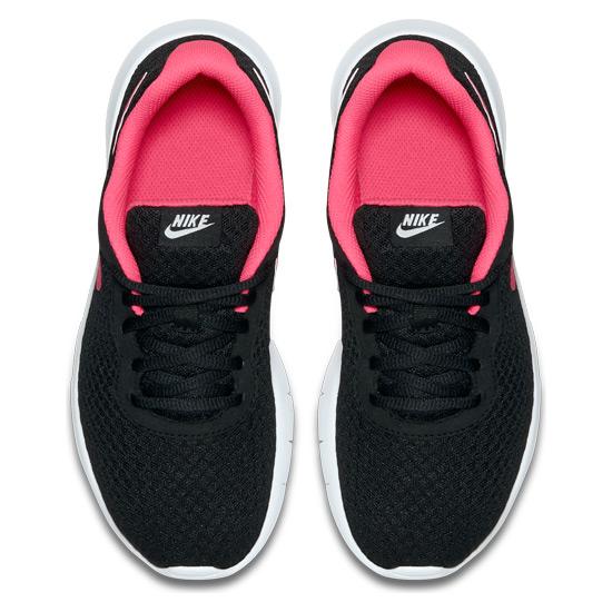 so cheap professional sale on feet at Nike Tanjun GS Junior Running Shoes (Black-Hyper Pink) | Direct Running