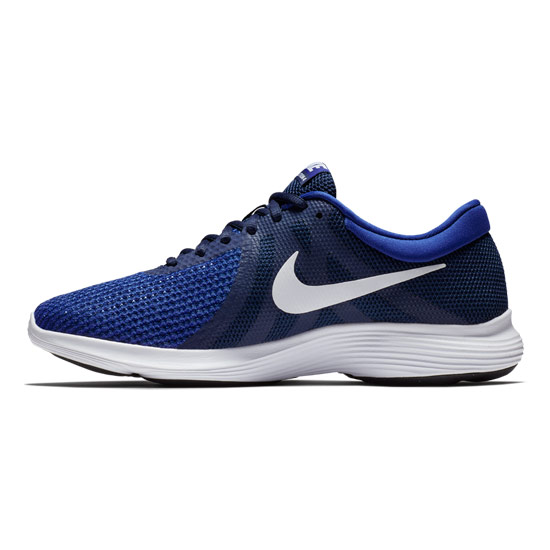 Nike Revolution 4 EU Mens Running Shoes (Midnight Navy-White Deep Royal Blue)