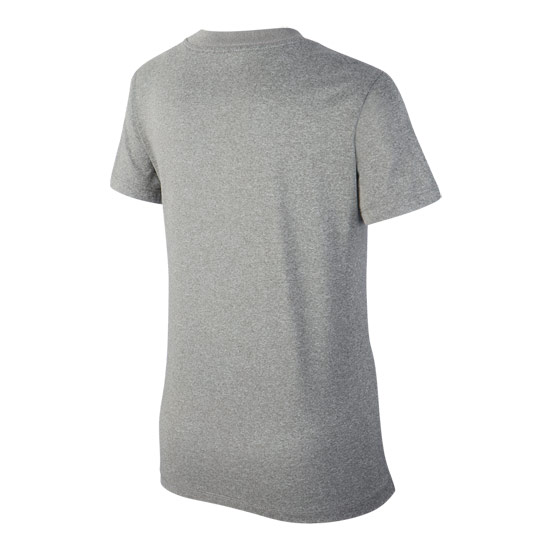 Nike Dry V-Neck Junior Tee (Carbon Heather)