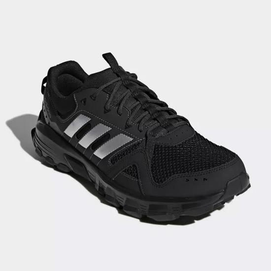 367d91a2a0ec Adidas Rockadia Mens Trail Running Shoes (Black)