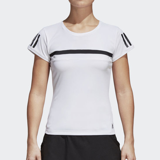 Adidas Girls Club Tee (White)