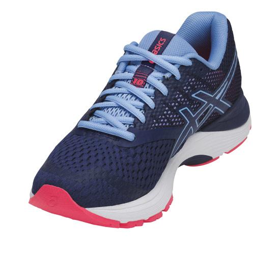 005f597ec58f7 Asics Gel Pulse 10 Womens Running Shoes (Blue Print)   Direct Running