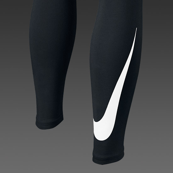 Nike Club Girls Leggings (Black)