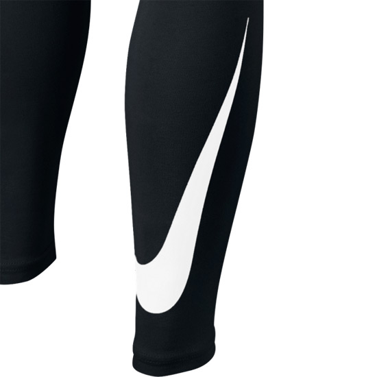 Nike Club Girls Leggings (Black-White)