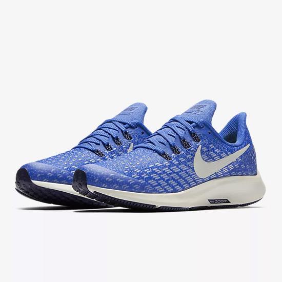 eec106e4850b Nike Air Zoom Pegasus 35 GS Junior Running Shoes (Cobalt Blaze ...