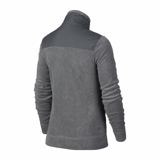 Nike Long Sleeve Half Zip Boys Top (Grey)