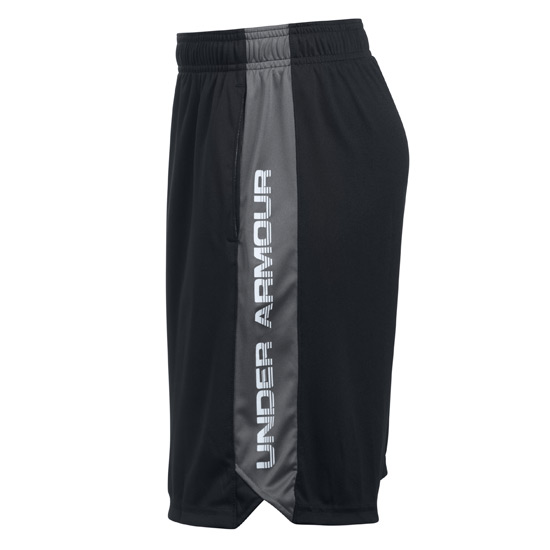 Under Armour Boys Eliminator Short (Black-Steel)