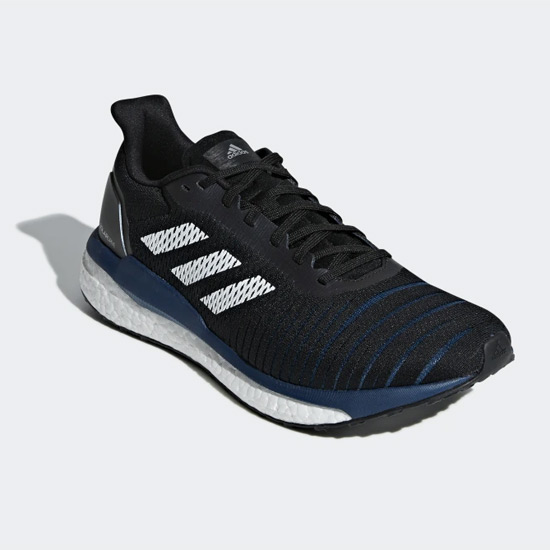 sports shoes 74858 869f3 Adidas Solar Drive Mens Running Shoes (Core Black)
