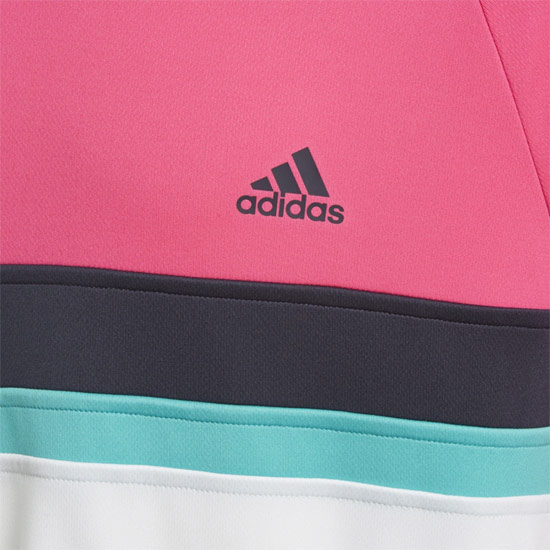 Adidas Club Boys Tee (Shock Pink)