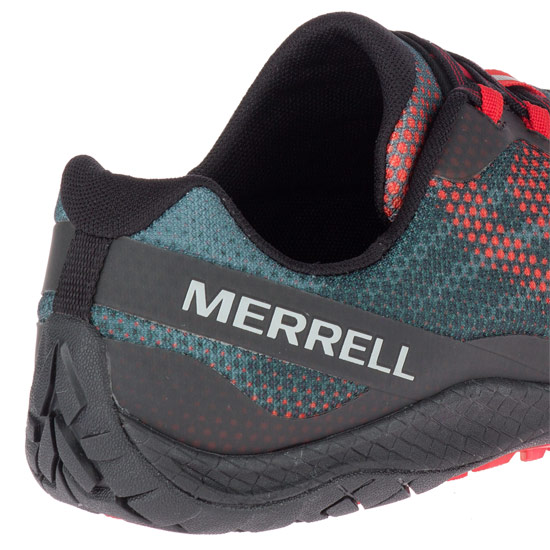 Merrell Trail Glove 4 Shield Mens Shoes (Black-Red)