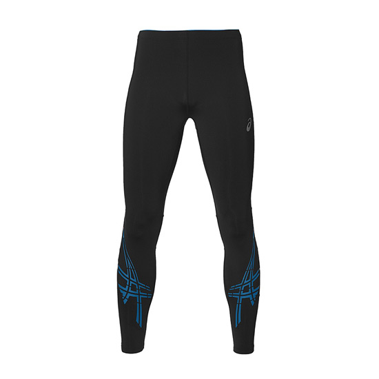 8e51c754082745 Asics Stripe Mens Running Tights (Performance Black) | Direct Running
