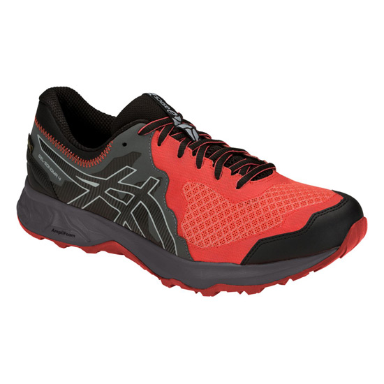 Asics Gel Sonoma 4 Gore-Tex Mens Trail Running Shoes (Red Snapper)