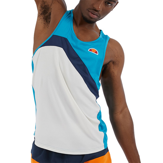Ellesse Nuovo Chevron Training Elite Mens Vest (Blue)