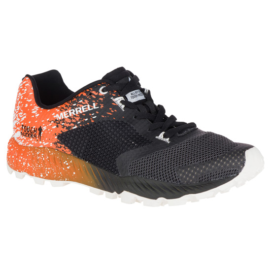 e1e77d05b639e Merrell All Out Crush Tough Mudder 2 Mens Shoes (TM Orange)