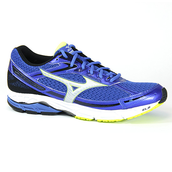 Mizuno Wave Equate Mens Running Shoes (Strong Blue-Safety