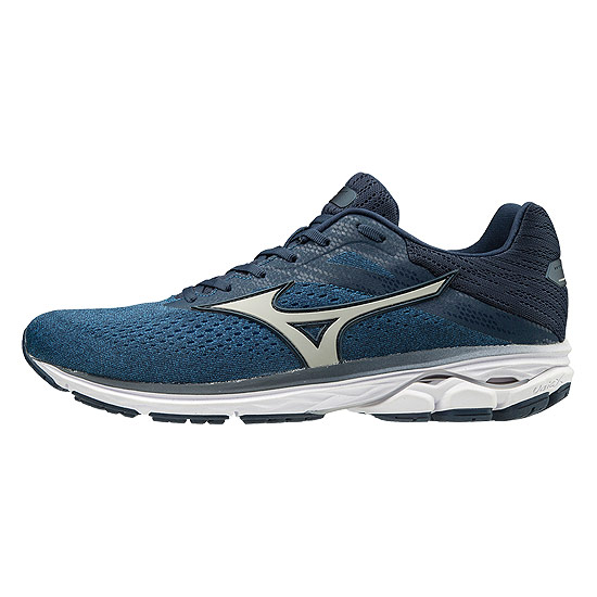 Mizuno Wave Rider 23 Mens Running Shoes (Campanula-Vapor Blue-Dress Blue)