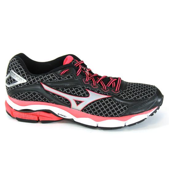 plutôt sympa 3ee1d dcc4e Mizuno Wave Ultima 7 Womens Running Shoes (Black-Diva Pink) | Direct Running