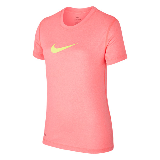 Nike Legend Girls T-Shirt (Lava Glow)