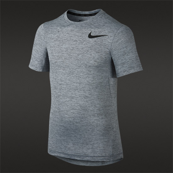Nike Dri-Fit Junior Training Top (Grey)