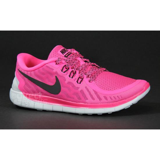 watch 3d24c 7475c Nike Free 5.0 Junior Running Shoes (Pink)   Direct Running
