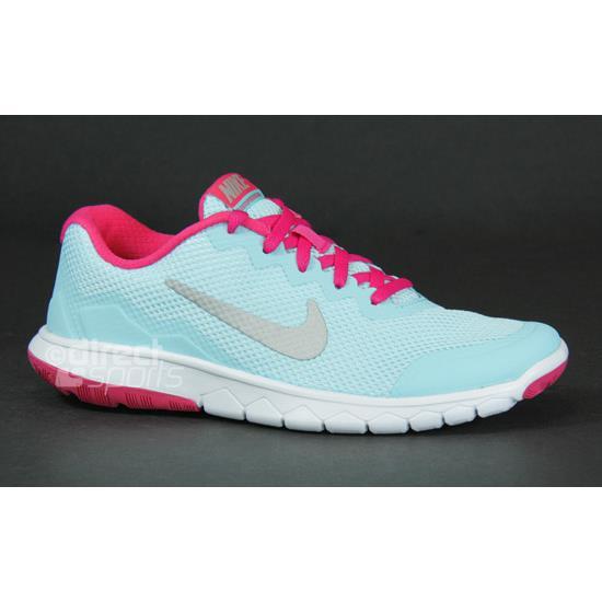 9c39a41bb18f Nike Flex Experience 4 GS Junior Running Shoes (Blue)