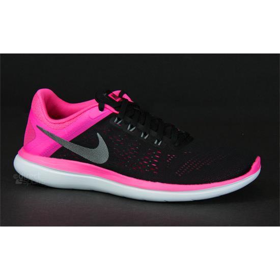 f7bff1df2f33 Nike Flex 2016 RN Womens Running Shoes (Black)