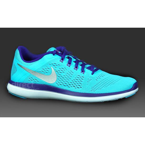 1fa9a6a7f1e Nike Flex 2016 RN Womens Running Shoes (Blue)
