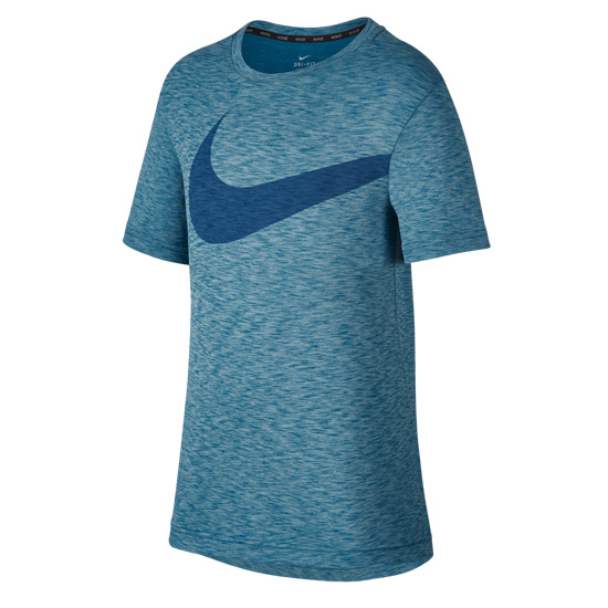 Nike Breathe Junior Training Top (Blue)
