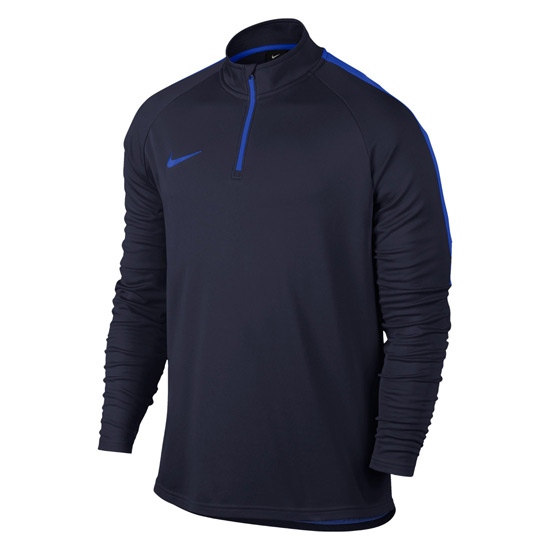 Nike Dry Academy Junior Drill Top (Obsidian-Hyper Royal)