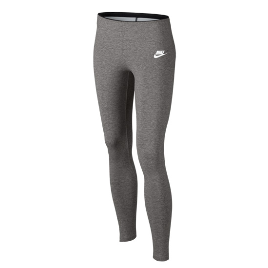 Nike Club Girls Leggings (Grey Heather)