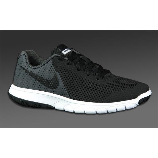 Nike Flex Experience 5 GS Junior Running Shoes (Black)  c049e50ae