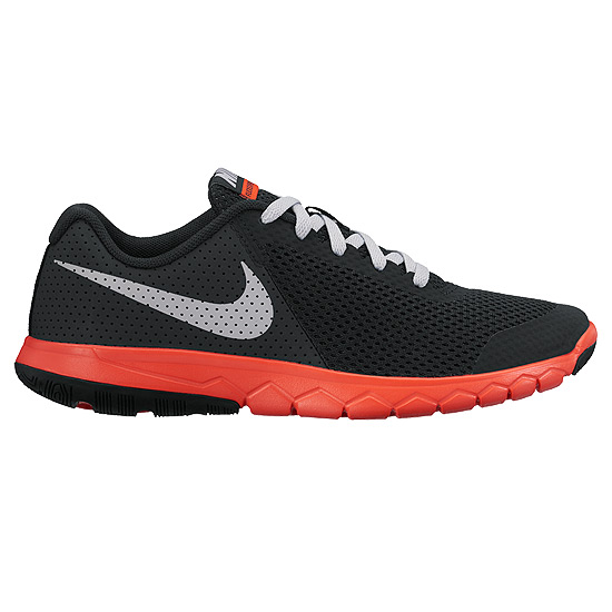 online retailer bf149 88fa8 Nike Flex Experience 5 GS Junior Running Shoes (Black-Orange)