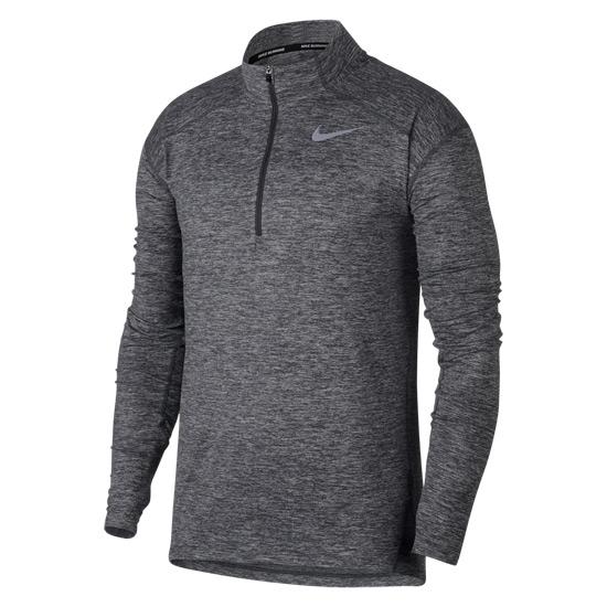 size 40 506bc d5fdb Nike Dry Element Half Zip Mens Top (Dark Grey)