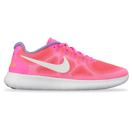 Dazzling Nike Free RN 2017 Racer Pink Off White Rose Coureur Black Casse 880840 601 Women's Running Shoes Trainers