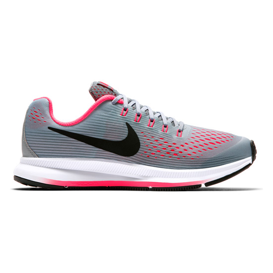 6a786f305447 Nike Zoom Pegasus 34 GS Junior Running Shoes (Grey)