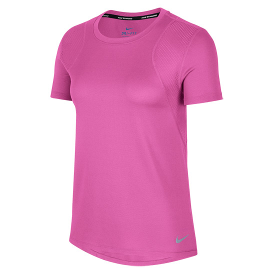 Nike Womens T-Shirt (Active Fuchsia)